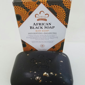 Photo of Nubian Heritage African Black Soap uploaded by Natasha P.