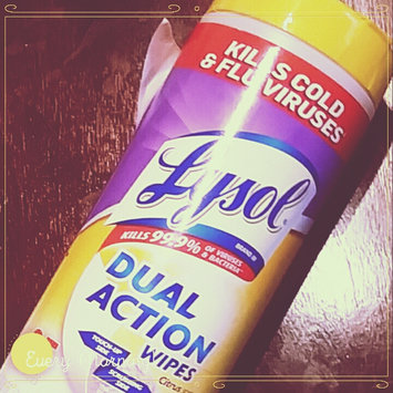 Photo of Lysol Dual Action Disinfecting Wipes uploaded by Trina J.