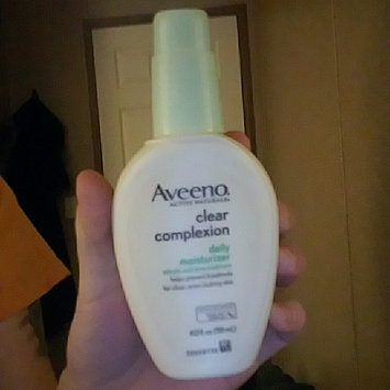 Photo uploaded to Aveeno® Clear Complexion Daily Moisturizer by kara n.