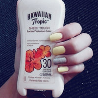 Hawaiian Tropic® Sheer Touch Ultra Radiance SPF 30 Lotion Sunscreen uploaded by ODALYS D.