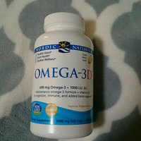 Nordic Naturals Omega-3D Purified Fish Oil with Vitamin D uploaded by H S.