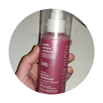 Photo of Ion Youth Restore Renewing Leave-In Conditioner uploaded by Trista H.