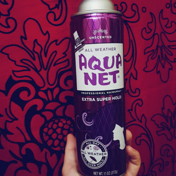 Photo of Aqua Net Extra Super Hold Hairspray, Unscented, 14 oz uploaded by Jennifer F.