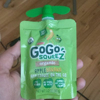GoGo SQUEEZ APPLE BANANA APPLESAUCE ON THE GO uploaded by Manminder S.