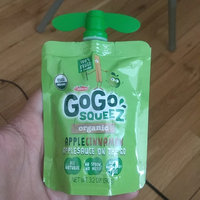 GoGo SQUEEZ APPLE CINNAMON APPLESAUCE ON THE GO uploaded by Manminder S.