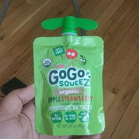 GoGo SQUEEZ APPLE STRAWBERRY APPLESAUCE ON THE GO uploaded by Manminder S.