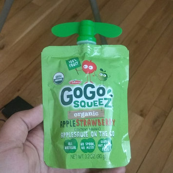 Photo of GoGo SQUEEZ APPLE STRAWBERRY APPLESAUCE ON THE GO uploaded by Manminder S.