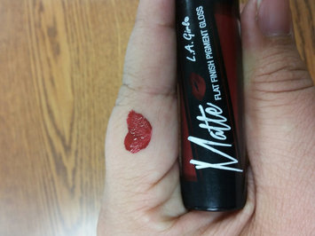 Photo of L.A. Girl Matte Pigment Lip Gloss uploaded by Sandra T.