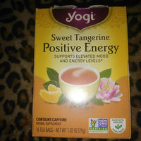Yogi Tea Sweet Tangerine Positive Energy uploaded by Lashun D.