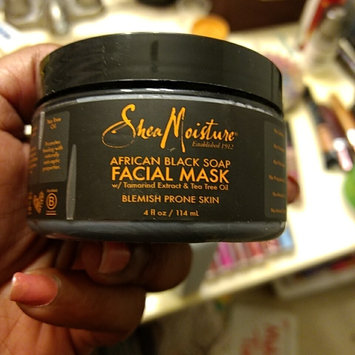 Photo of SheaMoisture African Black Soap Problem Skin Facial Mask uploaded by Shantrelle S.