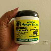 Jamaican Mango & Lime Resistant Formula Locking Firm Wax, 6 Ounce uploaded by Shantrelle S.