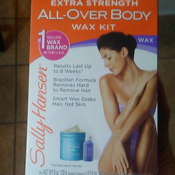Photo of Sally Hansen® Extra Strength All Over Body Wax Hair Removal Kit uploaded by Wesley H.