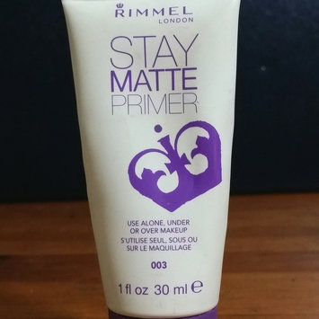 Photo of Rimmel London Stay Matte Primer uploaded by Samie G.