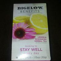 Bigelow® Benefits Lemon & Echinacea Herbal Tea uploaded by Lakeshia R.