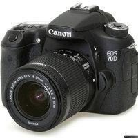 Canon Black EOS 70D Digital SLR Camera with 20.2 Megapixels, EF-S 18-55mm Standard Lens and EF 70-300mm Telephoto Lens Included uploaded by Äbdùllâh É.