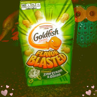 Goldfish® Flavor Blasted Slammin' Sour Cream & Onion Baked Snack Crackers uploaded by Lakeshia R.