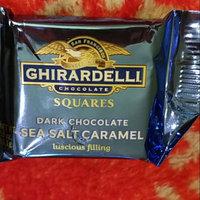 Ghirardelli Chocolate Dark Chocolate Sea Salt Caramel Square uploaded by Lana M.