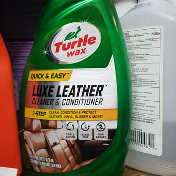Photo of Turtle Wax Quick and Easy Luxe Leather Cleaner and Conditioner uploaded by Amanda C.