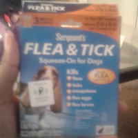 Sergeant's Sergeant Squeeze-On Dog Flea / Tick Repellent uploaded by Lovely K.