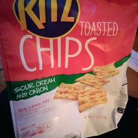 Nabisco RITZ Sour Cream & Onion Toasted Chips uploaded by Camella B.