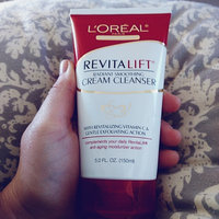 L'Oréal Paris RevitaLift® Radiant Smoothing Cream Cleanser uploaded by Melissa C.