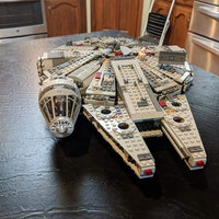 LEGO Star Wars Millennium Falcon 7965 uploaded by Mary Kate B.