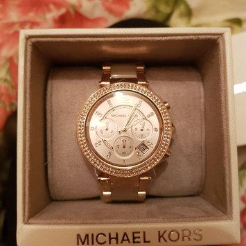 Photo of Michael Kors Micheal Kors Gold Runway Glitz Watch MK5166 [Gold] [{