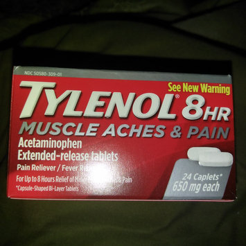 Photo of Tylenol® 8 Hr Muscle Aches & Pain Caplets uploaded by Dione P.
