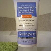 Neutrogena® Healthy Skin Anti-Wrinkle Anti-Blemish Cleanser uploaded by 알리나 박.