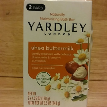 Photo of Yardley London Sensitive Skin Shea Buttermilk Moisturizing Bath Bar uploaded by crystal c.