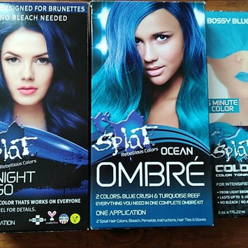 Photo of Splat Ombre Hair Color Kit uploaded by Carissa Q.