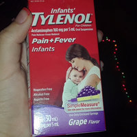 Tylenol Pain Reliever and Fever Reducer Grape Drops for Infants - 1 oz uploaded by Mariana N.