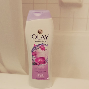 Photo of Olay Fresh Outlast Body Wash, Soothing Orchid & Black Currant, 13.5 fl oz uploaded by Jenessa S.