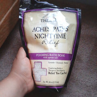 Village Naturals Therapy Aches+Pains Nighttime Relief Foaming Bath Soak with Epsom Salt, 36 oz uploaded by Andrea r.