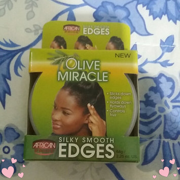 Photo of African Pride Olive Miracle Silky Smooth Edges uploaded by Milysen R.