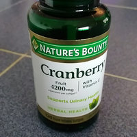 Nature's Bounty Cranberry 4200mg Plus Vitamin C Herbal Supplement Softgels - 250 CT uploaded by Katty M.