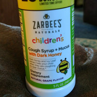 Zarbee's Naturals Children's Grape Cough Syrup + Mucus Relief - 4 oz uploaded by Courtney R.