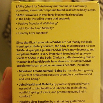 Photo of Spring Valley SAMe Dietary Supplement, 400mg, 40 count uploaded by Sherry Ann S.