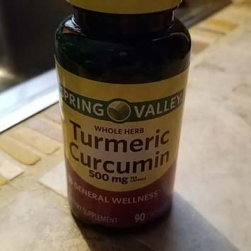 Photo of Spring Valley 90 Capsules 500 mg Ea. Turmeric Herbal Supplement 90 ct uploaded by Beverly B.