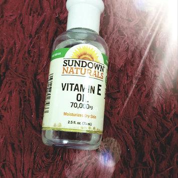 Photo of Sundown Naturals Pure Vitamin E Oil uploaded by maryoma e.