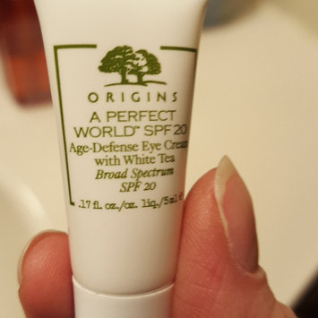 Photo of Origins A Perfect World™ Age-Defense Eye Cream with White Tea uploaded by Liliana H.