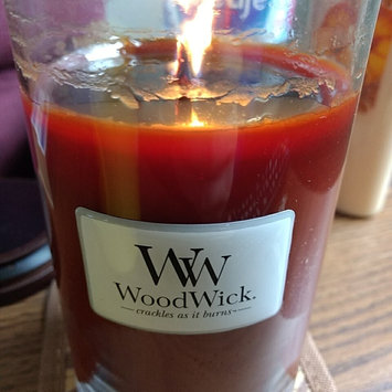 Photo of Woodwick Candle WoodWick Candle Large Fireside Jar uploaded by Casey M.