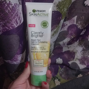 Photo of Garnier® SkinActive Clearly Brighter™ Argan Nut Gentle Exfoliating Cleanser 4.7 fl. oz. Tube uploaded by Juana m.