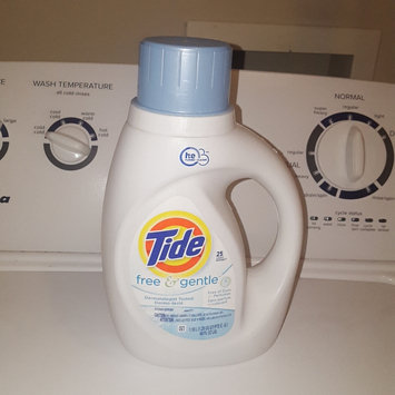 Photo of Tide Free and Gentle Liquid Laundry Detergent uploaded by Mallory B.