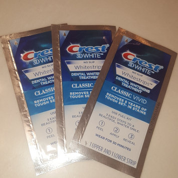 Photo of Crest 3D White Luxe Professional Effects Whitestrips Teeth Whitening Kit uploaded by Mallory B.