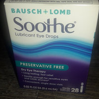 Bausch + Lomb Soothe Lubricant Eye Drops - 28 CT uploaded by Courtney C.