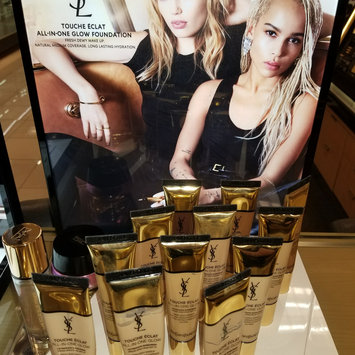 Photo of Yves Saint Laurent Touche Éclat All-In-One Glow Tinted Moisturizer uploaded by Kelly M.