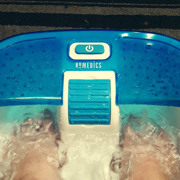 Photo of HoMedics Bubble Bliss Deluxe Foot Spa uploaded by Marissa K.