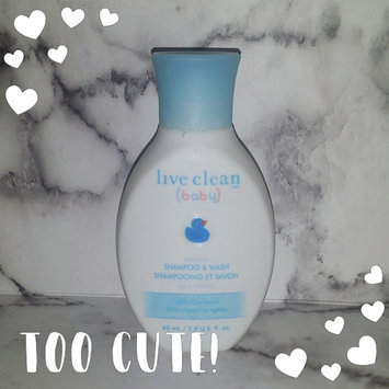 Photo of Live Clean® Baby Gentle Moisture Tearless Shampoo & Wash uploaded by Tracy B.