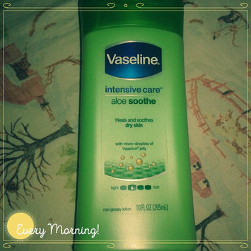 Photo of Vaseline® Intensive Care™ Aloe Soothe Lotion uploaded by Natalie R.